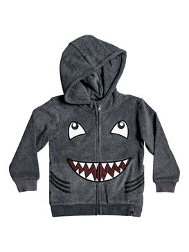 Fraser Coen - Reversible Shark Zip-Up Hooded Fleece  EQKFT03292