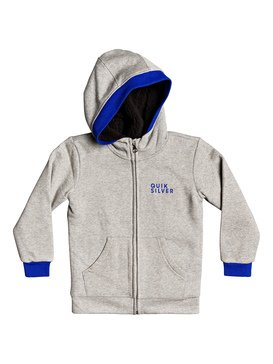 Bruny Tidal Sherpa - Sherpa-Lined Zip-Up Hoodie for Boys 2-7  EQKFT03300