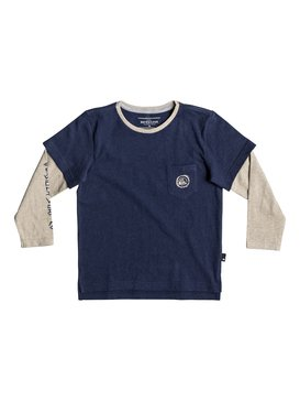 Retro Beach - Double Sleeve T-Shirt for Boys 2-7  EQKKT03162
