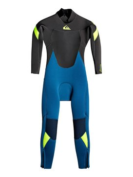 4/3mm Syncro - Back Zip GBS Wetsuit for Boys 2-7  EQKW103005
