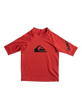 All Time - Short Sleeve UPF 50 Rash Vest for Boys 2-7  EQKWR03019