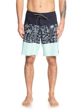 LIBERTY TRIBLOCK BOARDSHORT 19  EQMBS03057