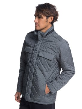 Waterman Last Out - Water-Resistant Hooded Field Jacket for Men  EQMJK03014
