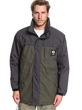 Waterman Swell Chasers - Water-Resistant Mac Jacket  EQMJK03028