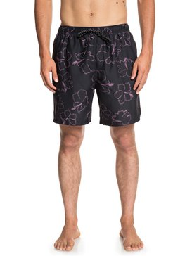 "Waterman Seasick Hilo 18"" - Swim Shorts for Men  EQMJV03049"