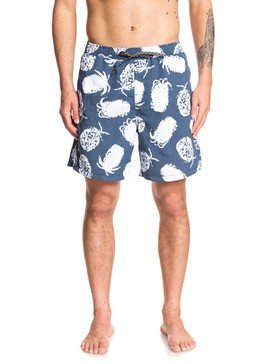 "Waterman Pineapple Web 18"" - Swim Shorts  EQMJV03054"
