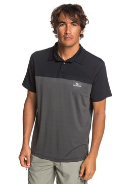 Waterman Paddle Runner - Short Sleeve UPF 30 Polo Shirt for Men  EQMKT03056