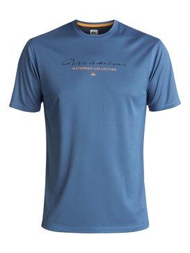 Waterman Gut Check - Amphibian UPF 40 Surf T-Shirt for Men  EQMWR03018