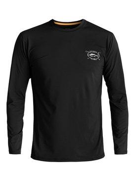 Waterman Chill - Amphibian Long Sleeve UPF 50 Surf T-Shirt for Men  EQMWR03021
