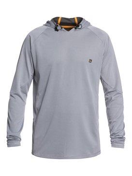Waterman New Hooked - Long Sleeve UPF 50 Hooded Rash Vest for Men  EQMWR03036