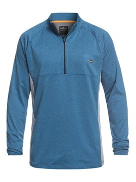 Waterman Paddler - Long Sleeve UPF 30 Half-Zip Rash Vest for Men  EQMWR03049
