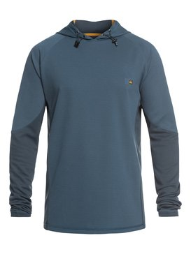 Waterman Hooked - Hooded Long Sleeve UPF 30 Rash Vest for Men  EQMWR03052