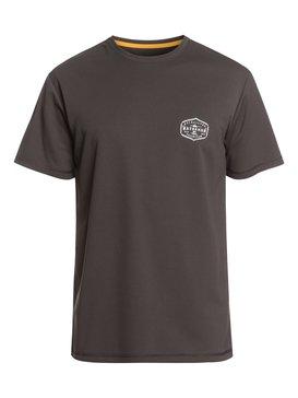 Waterman Gut Check - Short Sleeve UPF 50 Surf T-Shirt  EQMWR03058
