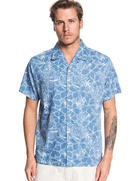 Waterman Big Swells - Short Sleeve Shirt  EQMWT03261