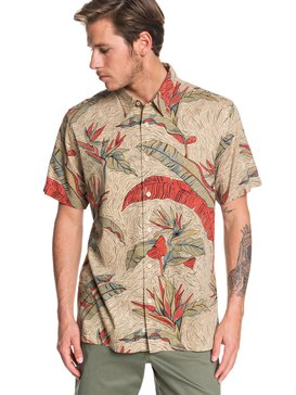 Waterman Under Warm Rain - Short Sleeve Shirt  EQMWT03262