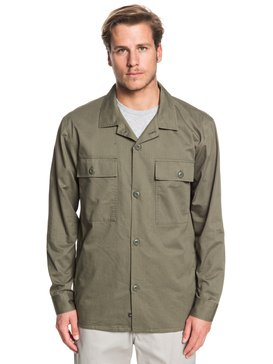 Waterman Under Way - Long Sleeve Overshirt  EQMWT03279