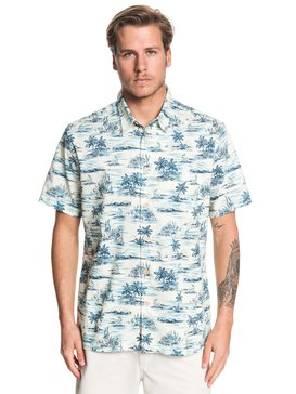 Waterman Shaka Bay - Short Sleeve Shirt for Men  EQMWT03283