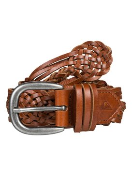 Quiksilver Womens - Braided Leather Belt  EQWAA03002