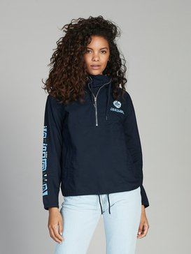 Quiksilver Womens - Half-Zip Hooded Jacket  EQWJK03005