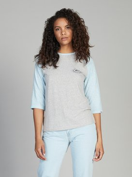 Quiksilver Womens - 3/4 Sleeve T-Shirt for Women  EQWKT03015
