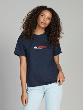 Quiksilver Womens Pro France - T-Shirt  EQWKT03023