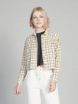 Quiksilver Womens - Cropped Long Sleeve Shirt  EQWWT03011
