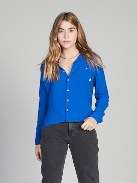 Quiksilver Womens - Long Sleeve Camp Shirt for Women  EQWWT03015