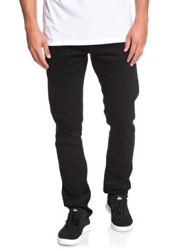 Distorsion Black Black - Slim Fit Jeans for Men  EQYDP03386