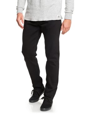 Revolver Black Black - Straight Fit Jeans for Men  EQYDP03406