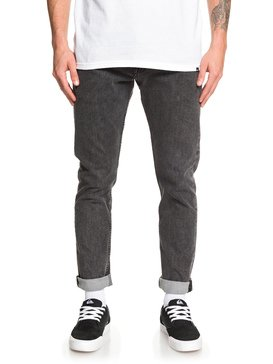 Distorsion Snow Black - Slim Fit Jeans  EQYDP03412