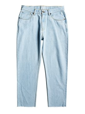 Up Sized Ice - Cropped Loose Fit Jeans  EQYDP03415