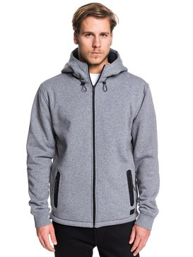 Kurow Sherpa - Zip-Up Sherpa-Lined Hoodie  EQYFT04007