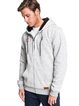 Keller Sherpa - Hooded Zip-Up Sherpa-Lined Fleece  EQYFT04011