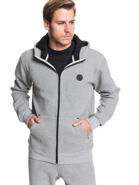 Marble Strelley - Bonded Waffle Zip-Up Hoodie  EQYFT04019