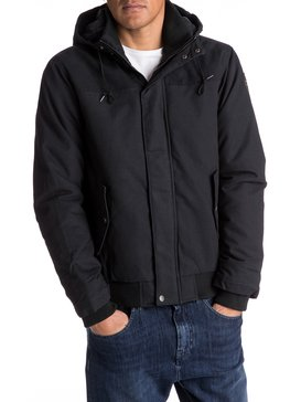 Everyday Brooks - Water-Repellent Hooded Bomber Jacket for Men  EQYJK03365