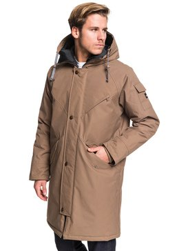 Kayapa - Longline Water-Repellent Hooded Jacket  EQYJK03508