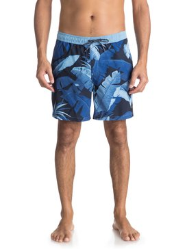 "Island Time 17"" - Swim Shorts for Men  EQYJV03294"