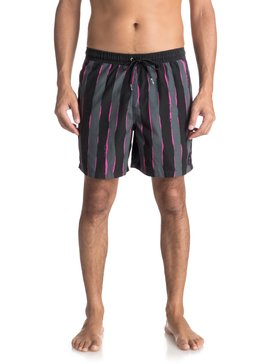 "Mad 17"" - Swim Shorts for Men  EQYJV03315"