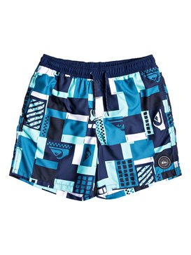 "City Block 17"" - Swim Shorts for Men  EQYJV03402"