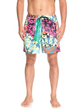 "Variable 17"" - Swim Shorts for Men  EQYJV03414"