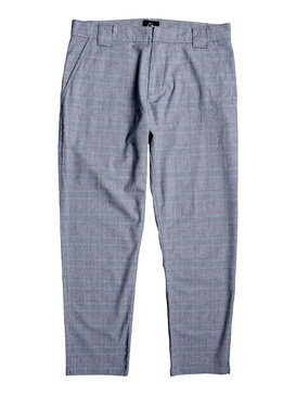 The Originals - Tapered Cropped Check Trousers  EQYNP03174