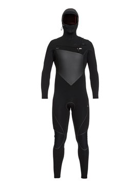 6/5/4mm Highline Series - Hooded Chest Zip GBS Wetsuit for Men  EQYW203010