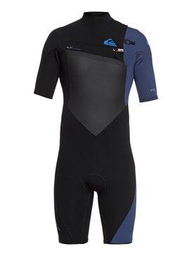 2/2mm Highline Plus - Short Sleeve Chest Zip Springsuit for Men  EQYW503008