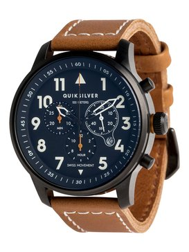 Seafire Leather - Analogue Watch for Men  EQYWA03015