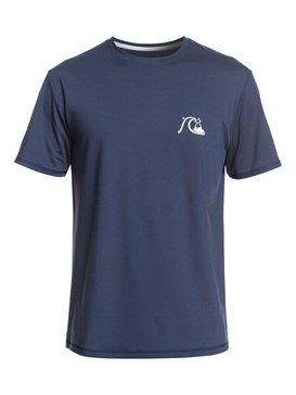 Bubble Logo - Short Sleeve UPF 50 Rash Vest  EQYWR03201