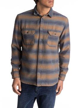 Dusky Town Flannel - Long Sleeve Over Shirt for Men  EQYWT03541