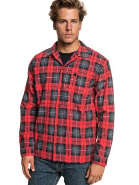Storm Warning - Long Sleeve Flannel Shirt for Men  EQYWT03777