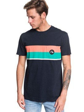 Multiply Stripe - Pocket T-Shirt  EQYZT05431
