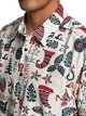 1 Waterman Mele Kalilimaka Short Sleeve Shirt  EQMWT03202 Quiksilver
