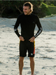 5 1.5 Highline Ltd M.W. - Long Sleeve Neoprene Surf Top for Men Grey EQYW803034 Quiksilver
